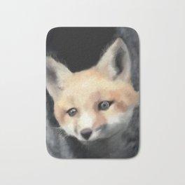 Fox hide n seek -Woodland series Bath Mat