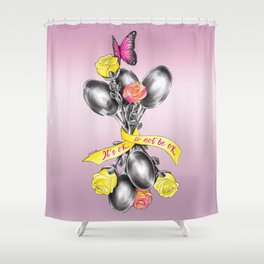 Spoons | ENDOvisible Shower Curtain