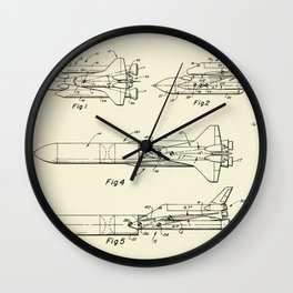 Space Shuttle-1975 Wall Clock