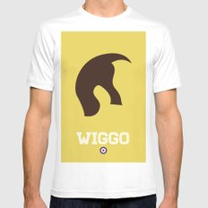Wiggo Mens Fitted Tee White MEDIUM