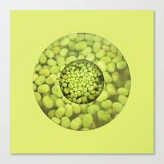 Green Beans Canvas Print