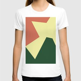 Minimalism Abstract Colors #18 T-shirt