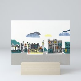 City Streets Mini Art Print