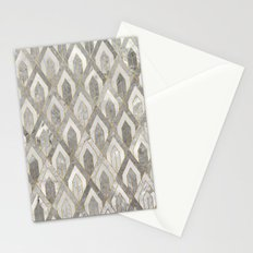 Art Deco Marble Pattern Stationery Cards