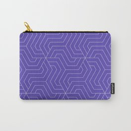 Plump Purple - violet - Modern Vector Seamless Pattern Carry-All Pouch