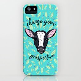 Change Your Perspective White Blaze iPhone Case