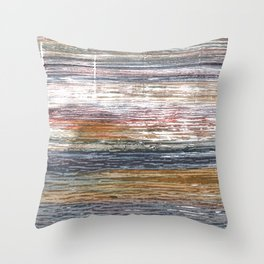 Stripes abstract Throw Pillow