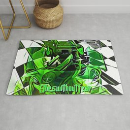 Fearless Finish Rug