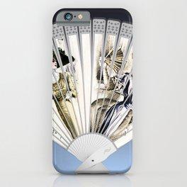 Victorian Fan Fashion Design Meets Art  iPhone Case