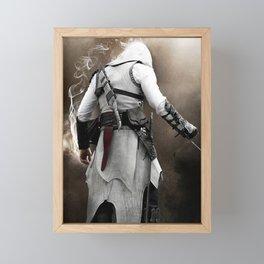 Behind Assassin cr Framed Mini Art Print