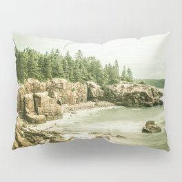 Acadia National Park Maine Rocky Beach Pillow Sham