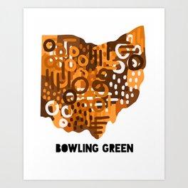 Bowling Green Art Print