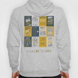 Major Taylor Grid Hoody