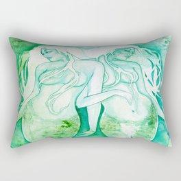 Goddess of Pisces - A Water Element Rectangular Pillow