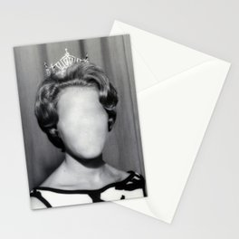 Who is she? Stationery Cards