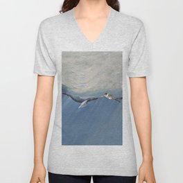 The Creation of Adam the Whale Unisex V-Neck