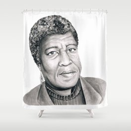Octavia Butler Shower Curtain