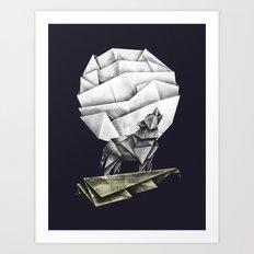 Wolfpaper Art Print