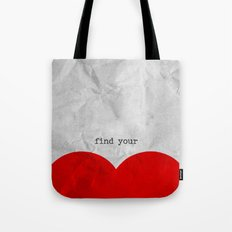 find your half (1 of 2 parts)  Tote Bag