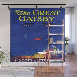 The Great Gatsby vintage book cover - Fitzgerald Wall Mural