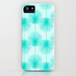 Tropical Teal iPhone Case