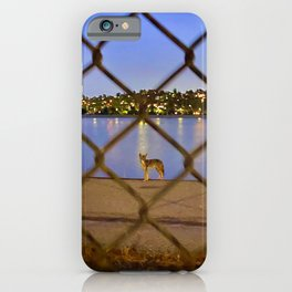 Chain Link Coyote iPhone Case