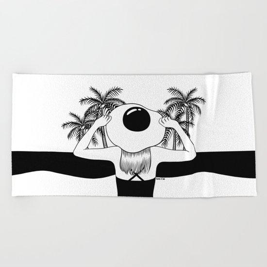 Sunny Side Up Beach Towel