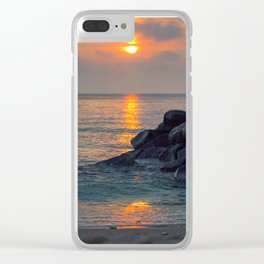 The Ft. Lauderdale Jetties Clear iPhone Case