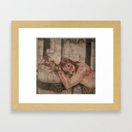 Passion Of Christ Framed Art Print