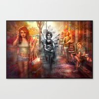 depression Canvas Prints featuring Depression by Mitul Mistry
