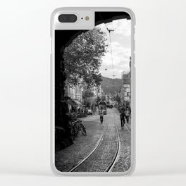 Streets of Freiburg Clear iPhone Case
