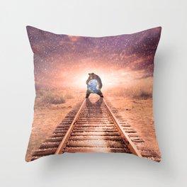 Arktouros Throw Pillow