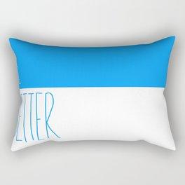 Be Better Rectangular Pillow