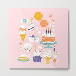 Birthday Celebration Metal Print