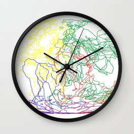 The Last 500 Million Years on Earth (3) Wall Clock
