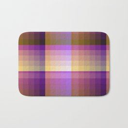 Complimentary Color Harmony ..Yellow /purple Bath Mat