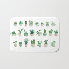 Tiny garden Bath Mat