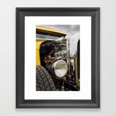 Vintage Car 2 Framed Art Print