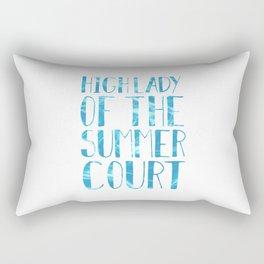 High Lady of the Summer Court Rectangular Pillow