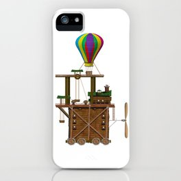 The Balloon Launcher iPhone Case