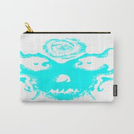 Rorschach Blue Carry-All Pouch