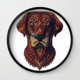 Labrador (Color Version) Wall Clock