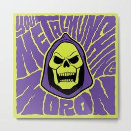 Metal Muncher Metal Print