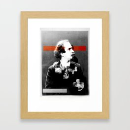 The story of an empty house Framed Art Print