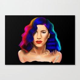 Marina Diamandis Canvas Print