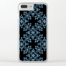 Niagara Vintage Brocade Damask Clear iPhone Case