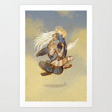 Danseurs Cosmiques 1 Art Print