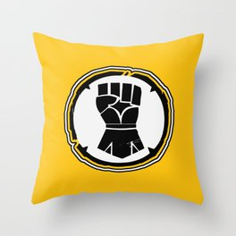 Imperial Fists Chapter Symbol Throw Pillow