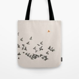 Bird and Birds Tote Bag