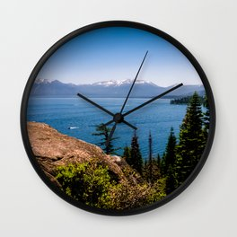 What Lies Beyond the Forest Wall Clock
